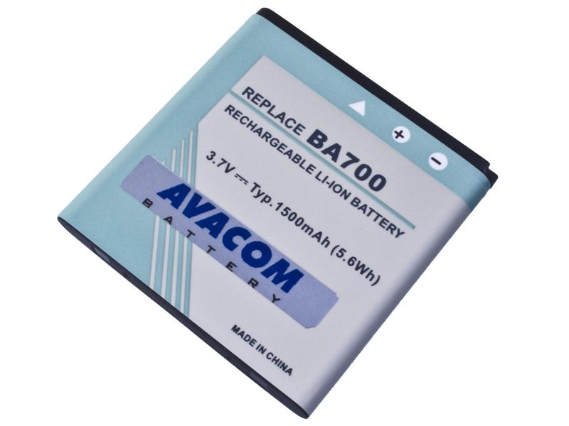 Baterie do mobilu Sony Ericsson pro Xperia Pro, Xperia Neo Li-Ion 3,7V 1500mAh (náhrada BA700)