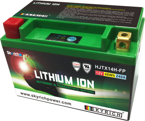 Motobaterie Skyrich Lithium HJTX14H-FP (12V 48Wh) (startovací proud 240A)