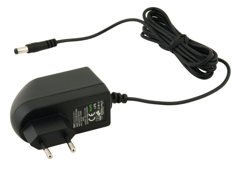 Napájecí adaptér univerzální 12V 2A 24W konektor 5,5mm x 2,5mm