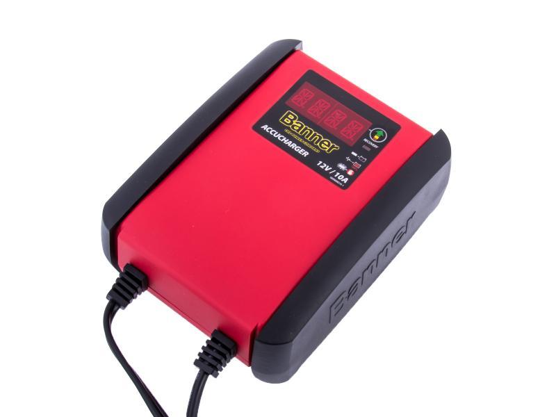 Automatická nabíječka Banner Accucharger 12V 10A pro všechny druhy baterií (10 - 230Ah) s Recovery Modem