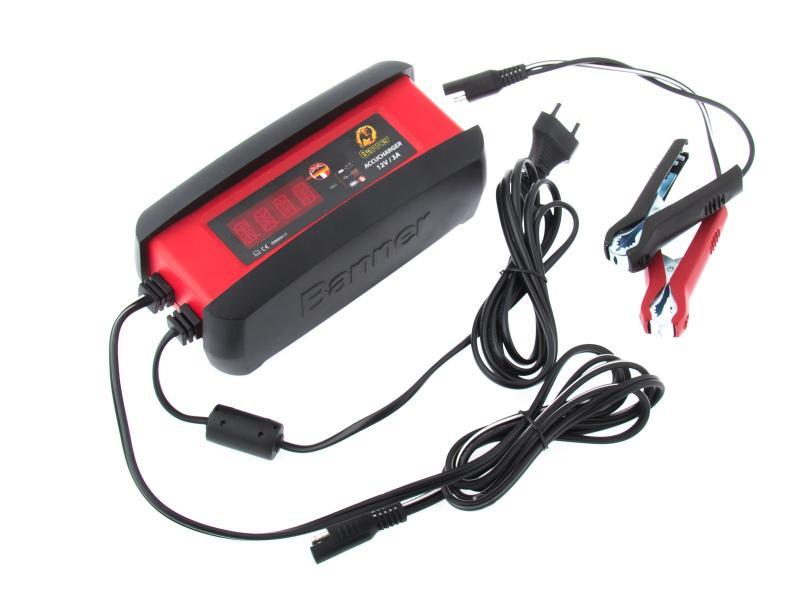 Automatická nabíječka Banner Accucharger 12V 3A pro všechny druhy baterií (do 72Ah)