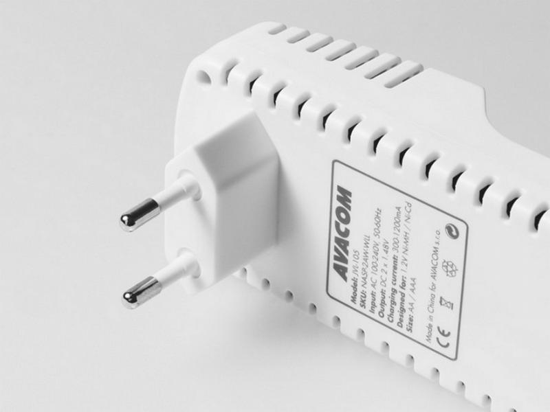 AVACOM JVL-105 Rychlá nabíječka baterií (AA, AAA)