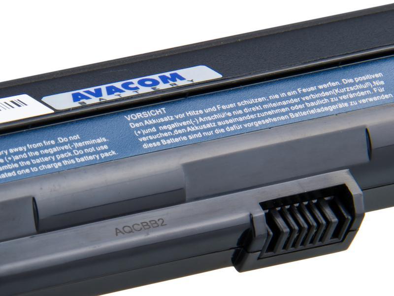 Acer Aspire One A110/A150, D150/250, P531 series Li-Ion 11,1V 5200mAh/58Wh black