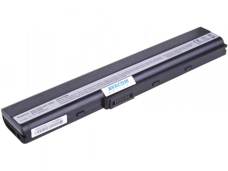 Asus A42/A52/K52/X52 Li-Ion 11,1V 5200mAh 58Wh