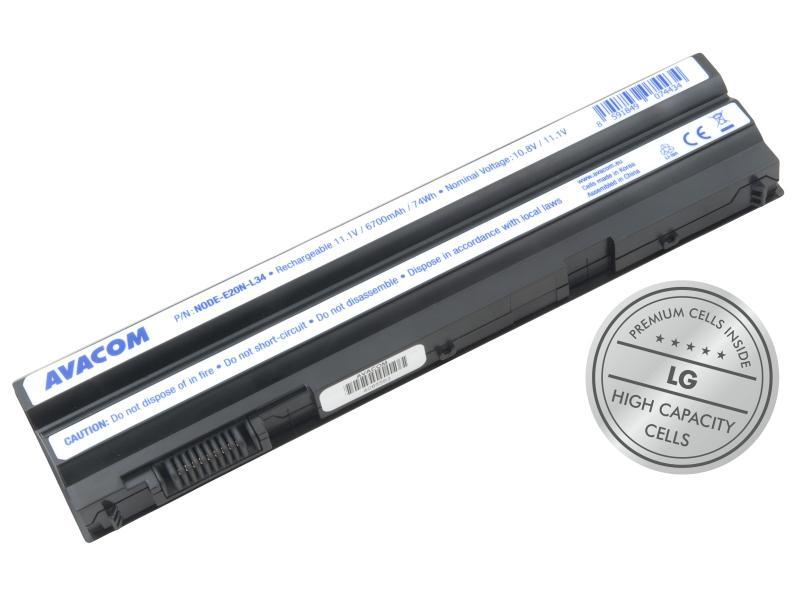 Dell Latitude E5420, E5530, Inspiron 15R, Li-Ion 11,1V 6700mAh 74Wh