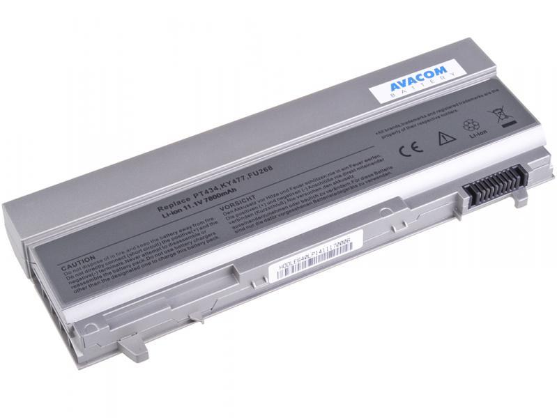 Dell Latitude E6400, E6410, E6500 Li-Ion 11,1V 7800mAh / 87Wh