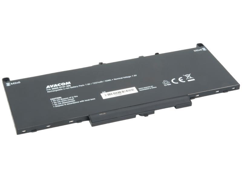 Dell Latitude E7470, E7270 Li-Ion 7,6V 7237mAh 55Wh
