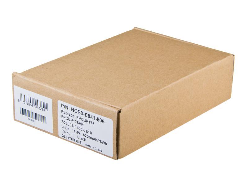 Fujitsu Siemens LifeBook E8410, Celsius H250 Li-Ion 14,4V 5200mAh/75Wh