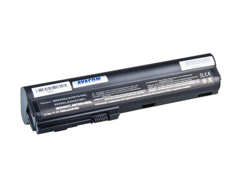 HP EliteBook 2560p, 2570p Li-Ion 11,1V 7800mAh /87Wh