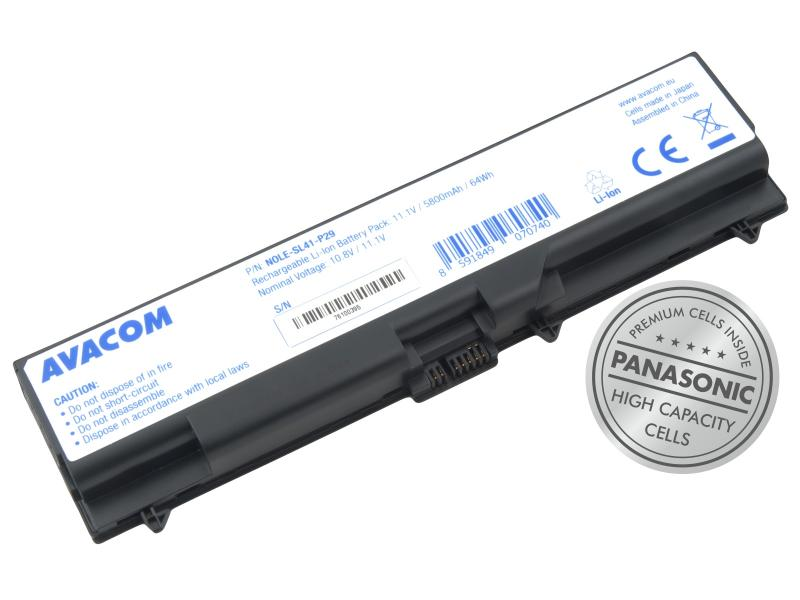 "Lenovo ThinkPad T410/SL510/Edge 14"", Edge 15"" Li-Ion 10,8V 5800mAh/63Wh"