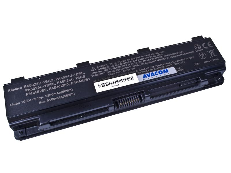Toshiba Satellite L850 Li-Ion 10,8V 5200mAh/56Wh black