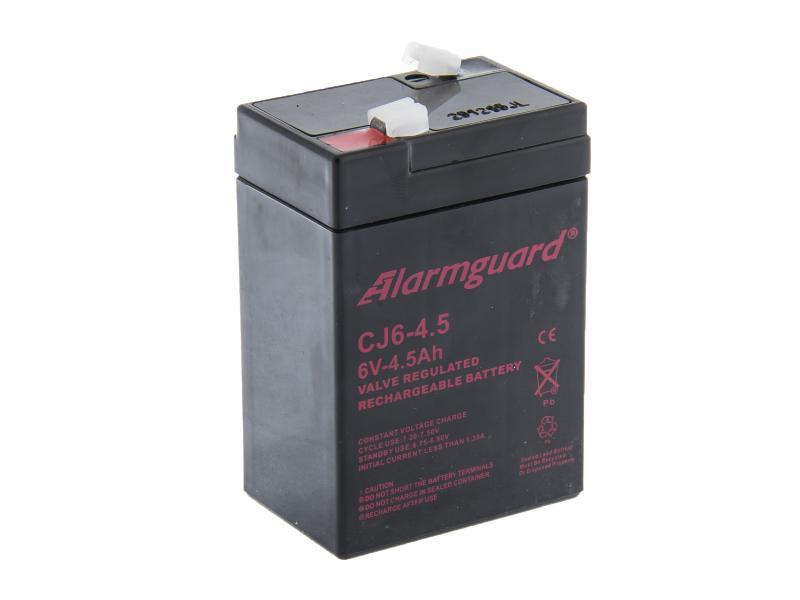 Alarmguard 6V 4,5Ah olověný akumulátor F1 (CJ6-4.5)