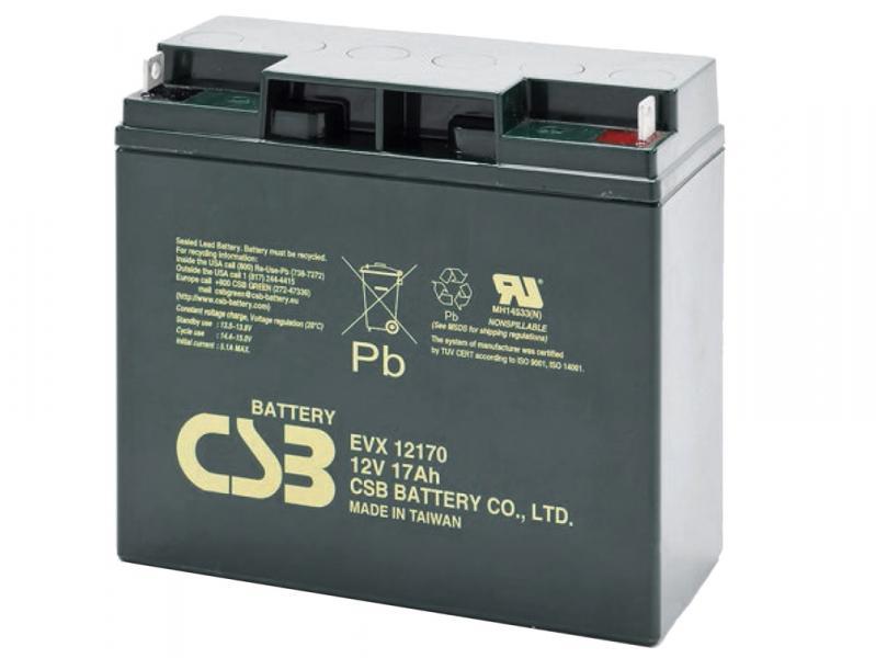 CSB 12V 17Ah olověný akumulátor DeepCycle M5 (EVX12170)