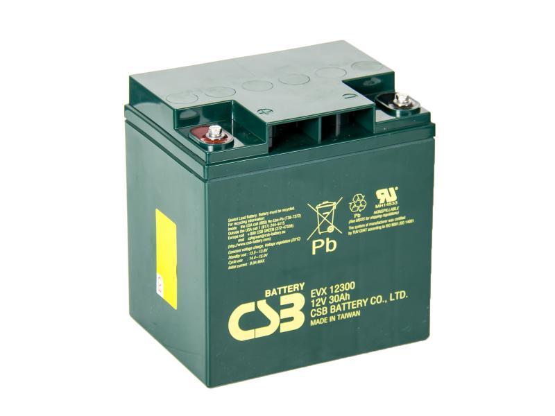 CSB 12V 30Ah olověný akumulátor (EVX12300)
