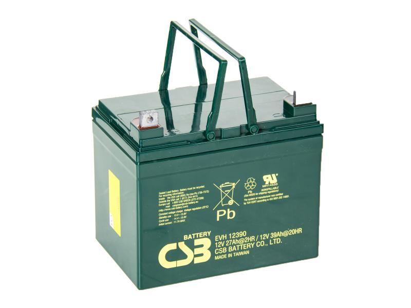 CSB 12V 39Ah olověný akumulátor Deep Cycle M6 (EVH12390)