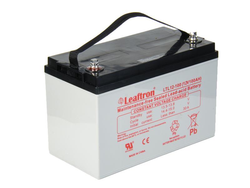 Leaftron 12V 100Ah olověný akumulátor T11 (10 let) (LTL12-100)