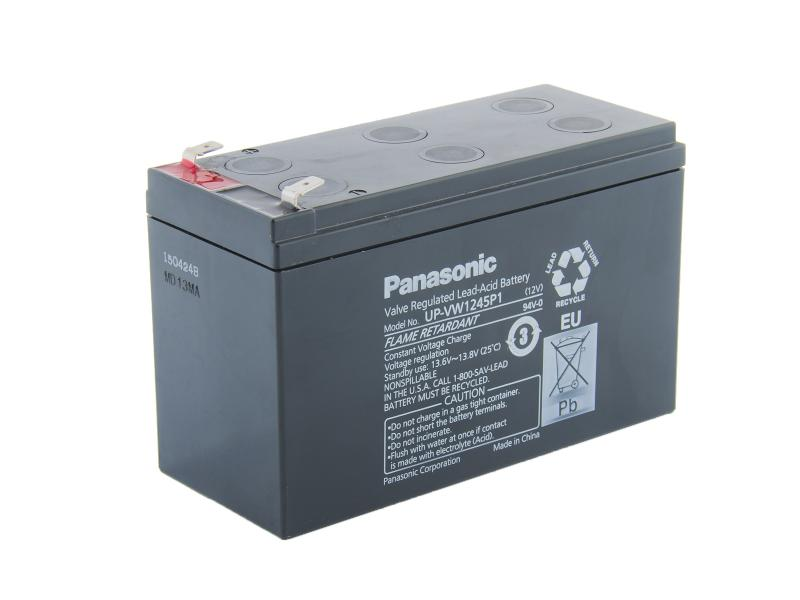 Panasonic 12V 9Ah olověný akumulátor HighRate F2  UP-VW1245P1
