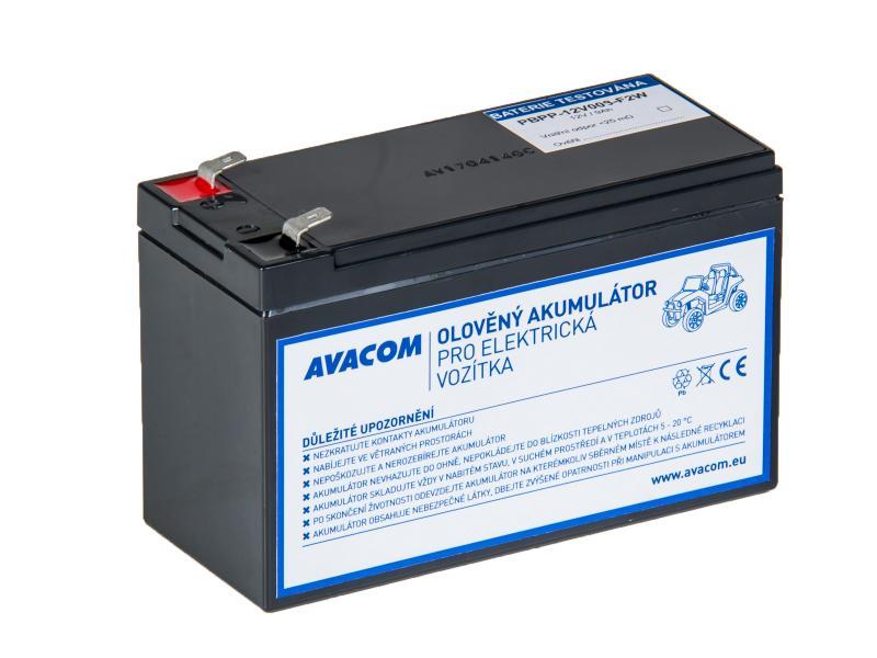 Náhradní baterie (olověný akumulátor) 12V 8Ah do vozítka Peg Pérego F2