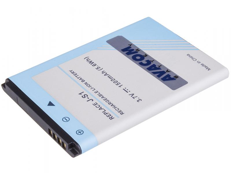 Baterie do mobilu BlackBerry Curve 9320, Curve 9220, Li-Ion 3,7V 1500mAh (náhrada J-S1)