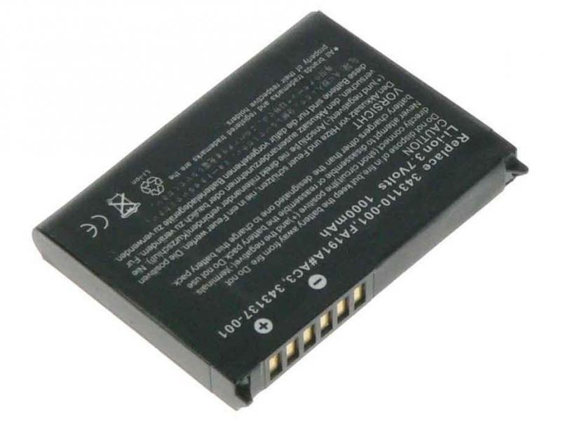 Baterie pro HP iPAQ H4100/4150 Series Li-Ion 3,7V 1100mAh (náhrada 343111-001)