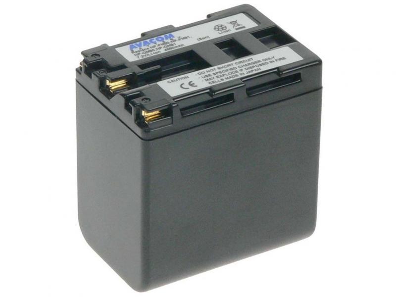 Sony NP-QM90, QM91 Li-Ion 7.2V 4860mAh 35Wh