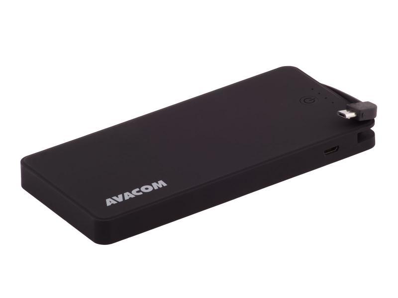 AVACOM externí baterie PWRB-8000K, Li-Pol články, kapacita 8000mAh, výstup 5V/2.1A+1A, barva černá