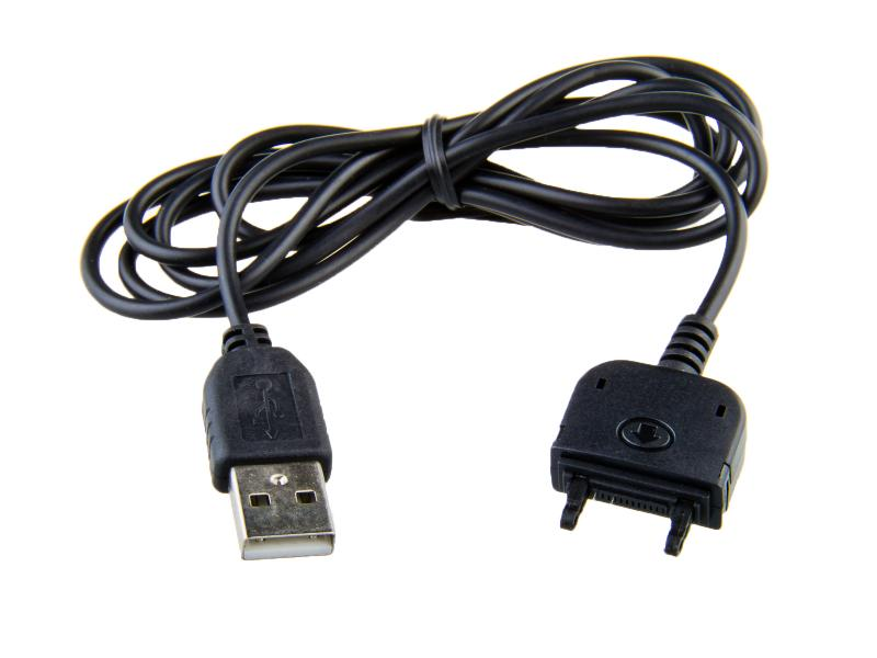 Nabíjecí USB kabel pro telefony Sony Ericsson s konektorem Fast-Port (120cm)