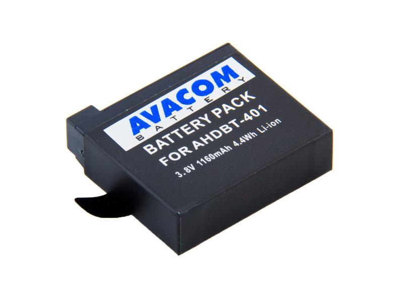 GoPro AHDBT-401 Li-Ion 3.7V 1150mAh 4.4Wh