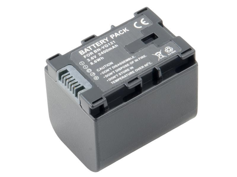 JVC BN-VG107, VG114, VG121 Li-Ion 3.6V 2400mAh 8.6Wh