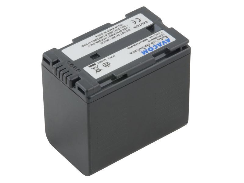 Panasonic CGR-D320/D28s, Hitachi DZ-BP28 Li-Ion 7.2V 3600mAh 26Wh černá