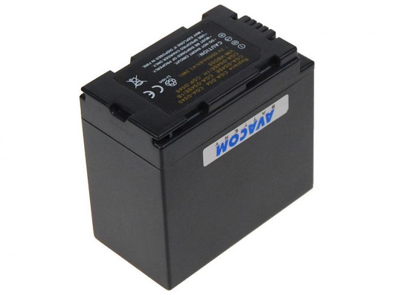 Panasonic CGA-D54S,CGA-D54SE Li-Ion 7.2V 5850mAh 43.2Wh