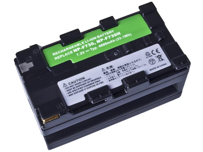 Sony NP-F730, NP-F730H Li-Ion 7.2V 4600mAh 33.1Wh profi