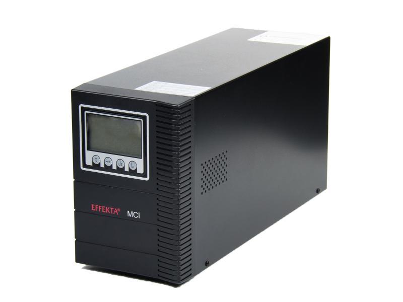Effekta MCI UPS záložní zdroj 1000VA/900W 1:1 Tower + karta AS400