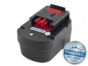BLACK & DECKER A1712 Ni-Mh 12V 3000mAh, články PANASONIC