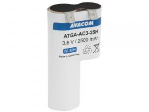 Baterie pro nůžky na plot Gardena typ ACCU 3 Ni-MH 3,6V 2500mAh