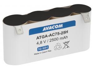 Baterie pro nůžky na plot Gardena typ ACCU 75  Ni-MH 4,8V 2500mAh