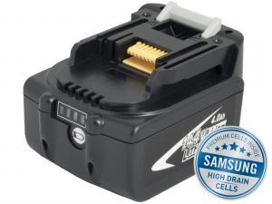 MAKITA BL 1430 Li-Ion 14,4V 4000mAh, články SAMSUNG s LED indikací