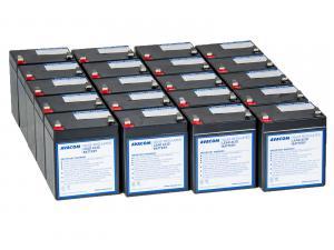 Náhradní baterie pro UPS HP Compaq R5500 XR - kit (20ks baterií)