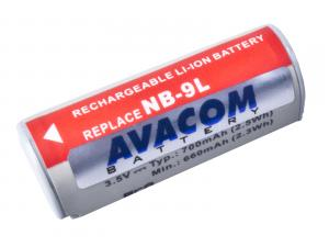 Canon NB-9L Li-Ion 3.7V 700mAh 2.5Wh