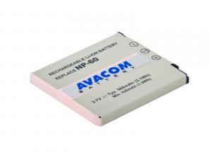 Casio NP-60 Li-Ion 3.7V 560mAh 2.1Wh