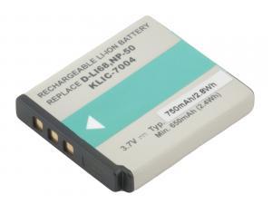 Fujifilm NP-50, Kodak KLIC-7004, Pentax D-LI68 Li-Ion 3.7V 750mAh 2.8Wh