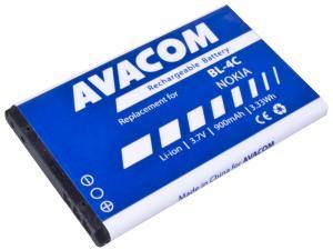 Baterie do mobilu Nokia 6300 Li-Ion 3,7V 900mAh  (náhrada BL-4C)