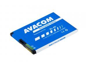 Baterie do mobilu Nokia E7, N8 Li-Ion 3,7V 1200mAh (náhrada BL-4D)