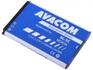 Baterie do mobilu Nokia 6230, N70, Li-Ion 3,7V 1100mAh (náhrada BL-5C)