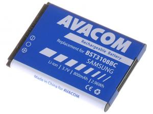 Baterie do mobilu Samsung X200, E250 Li-Ion 3,7V 800mAh (náhrada AB463446BU)