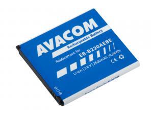 Baterie do mobilu Samsung Grand 2 Li-Ion 3,8V 2600mAh, (náhrada EB-B220AEBE)