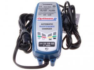 Nabíječka Optimate 2 (12V/0,8A) pro olověné AGM/GEL akumulátory (3 - 96Ah)