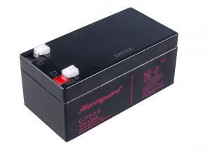 Alarmguard 12V 3,2Ah olověný akumulátor F1 (CJ12-3.2)