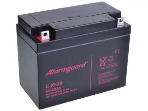 Alarmguard 6V 20Ah olověný akumulátor F3 (CJ6-20)