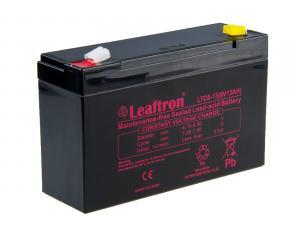Leaftron 6V 13Ah olověný akumulátor Deep Cycle AGM F2 (LTC6-13)